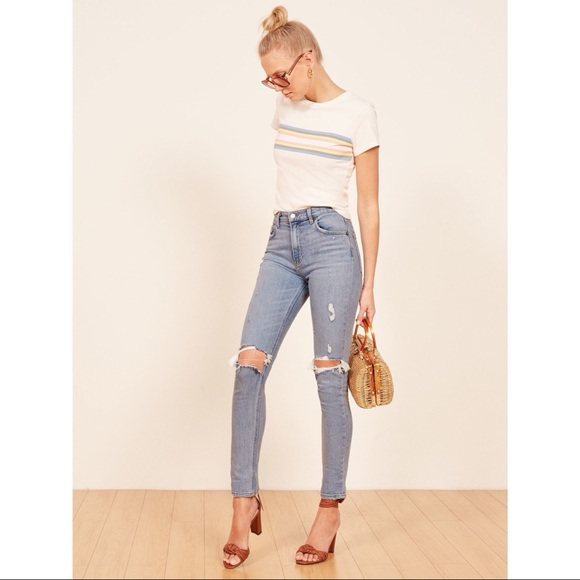 66452428db2e6d Reformation Jeans | Hepburn High Skinny Jean Ibiza | Poshmark